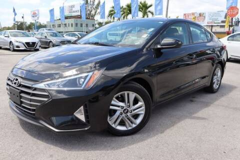 2020 Hyundai Elantra for sale at OCEAN AUTO SALES in Miami FL