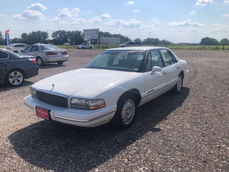 1996 Buick Park Avenue for sale at COUNTRY AUTO SALES in Hempstead TX