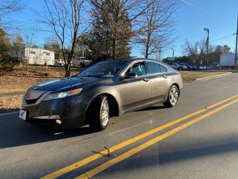 2010 Acura TL for sale at THE AUTO FINDERS in Durham NC