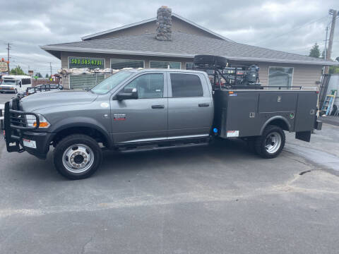 2012 RAM Ram Chassis 5500 for sale at Dorn Brothers Truck and Auto Sales in Salem OR