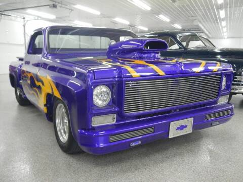 1976 Chevrolet C/K 10 Series for sale at Custom Rods and Muscle in Celina OH