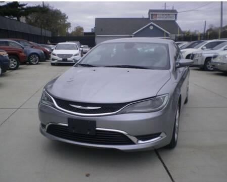 2015 Chrysler 200 for sale at Simon's Auto Sales in Detroit MI