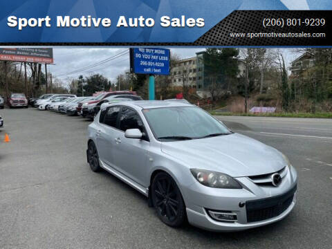 2008 Mazda MAZDASPEED3 for sale at Sport Motive Auto Sales in Seattle WA