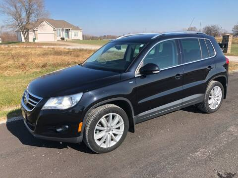 2010 Volkswagen Tiguan for sale at Nice Cars in Pleasant Hill MO