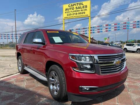 2015 Chevrolet Tahoe for sale at CAPITOL AUTO SALES LLC in Baton Rouge LA