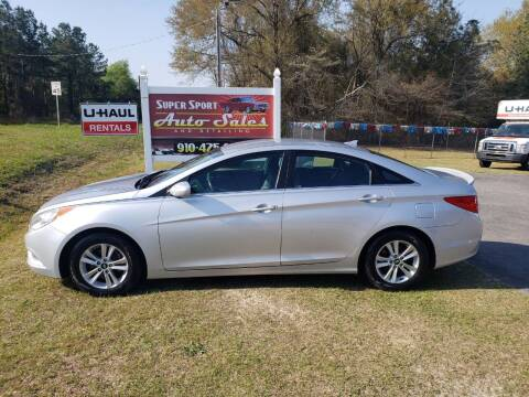 2013 Hyundai Sonata for sale at Super Sport Auto Sales in Hope Mills NC