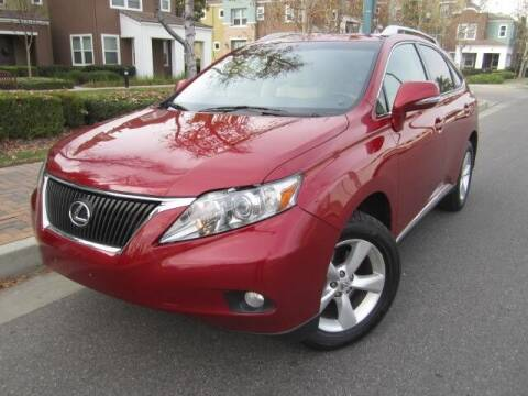 2010 Lexus RX 350 for sale at PREFERRED MOTOR CARS in Covina CA