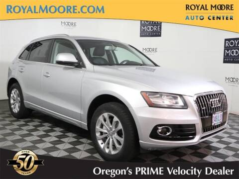 2014 Audi Q5 for sale at Royal Moore Custom Finance in Hillsboro OR