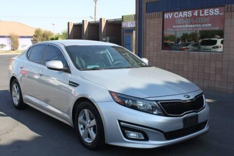 2014 Kia Optima for sale at NV Cars 4 Less, Inc. in Las Vegas NV