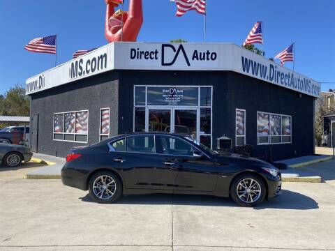2017 Infiniti Q50 for sale at Direct Auto in D'Iberville MS
