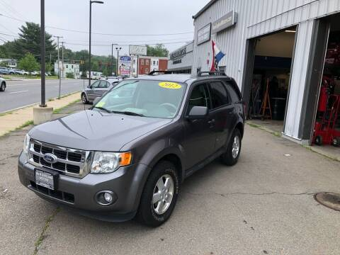 2012 Ford Escape for sale at New England Motors of Leominster, Inc in Leominster MA