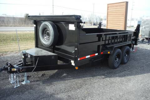 2021 Quality Steel 83X14 DUMP for sale at Bryan Auto Depot in Bryan OH
