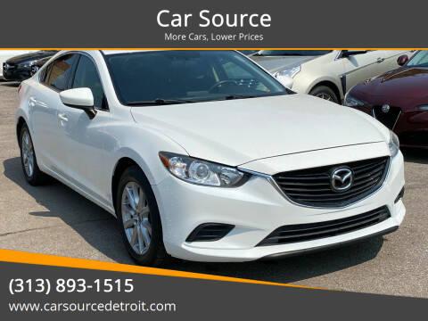 2016 Mazda MAZDA6 for sale at Car Source in Detroit MI