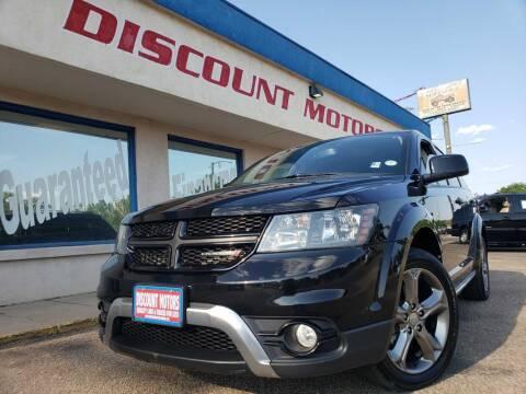 2016 Dodge Journey for sale at Discount Motors in Pueblo CO