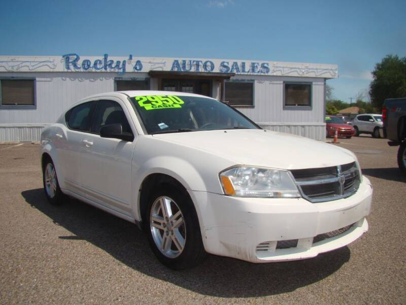 2008 Dodge Avenger for sale at Rocky's Auto Sales in Corpus Christi TX