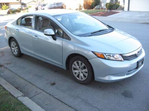 2012 Honda Civic for sale at StarMax Auto in Fremont CA