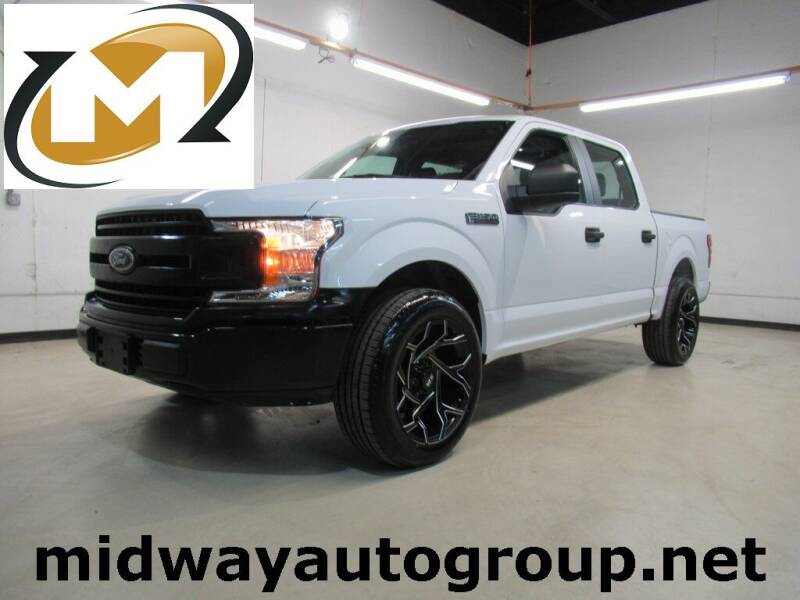 2018 Ford F-150 for sale at Midway Auto Group in Addison TX
