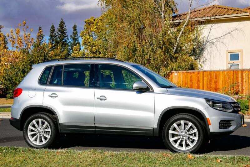 2017 Volkswagen Tiguan for sale at California Diversified Venture in Livermore CA