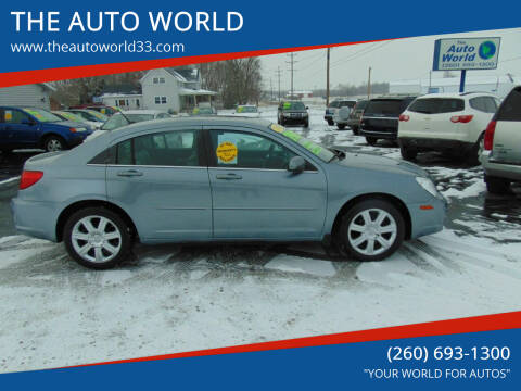 2010 Chrysler Sebring for sale at THE AUTO WORLD in Churubusco IN