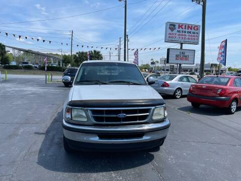 1997 Ford F-150 for sale at King Auto Deals in Longwood FL