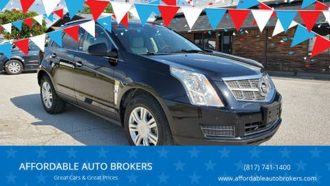 2010 Cadillac SRX for sale at AFFORDABLE AUTO BROKERS in Keller TX