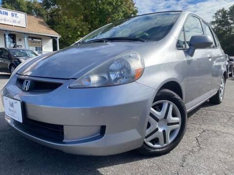 2008 Honda Fit for sale at Mega Motors in West Bridgewater MA