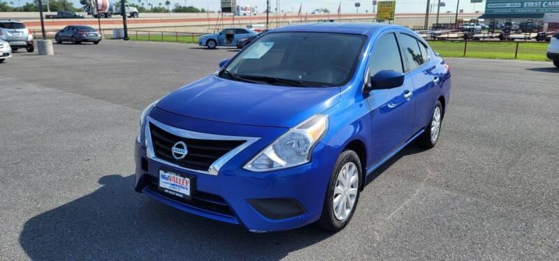 2017 Nissan Versa for sale at Mid Valley Motors in La Feria TX