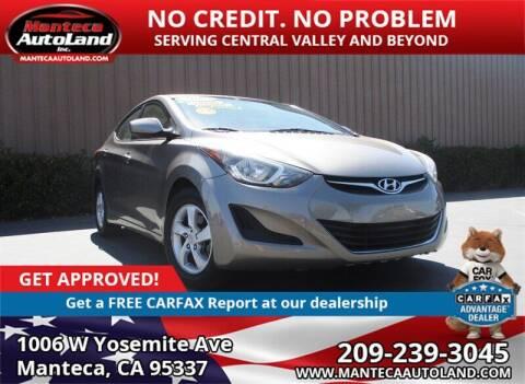 2015 Hyundai Elantra for sale at Manteca Auto Land in Manteca CA