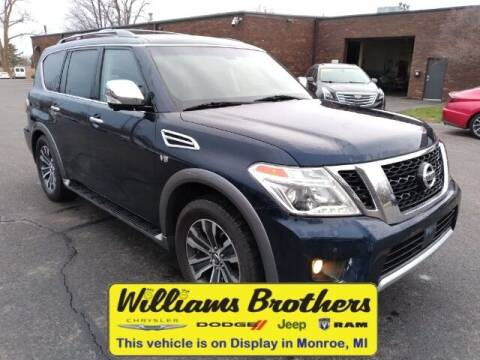 2017 Nissan Armada for sale at Williams Brothers - Pre-Owned Monroe in Monroe MI