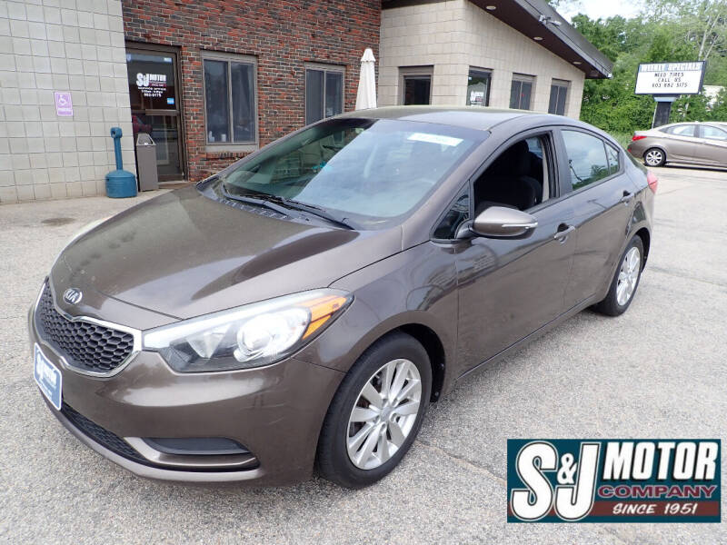 2014 Kia Forte for sale at S & J Motor Co Inc. in Merrimack NH