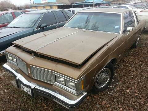 1982 Oldsmobile Delta Eighty-Eight Royale for sale at Ody's Autos in Houston TX