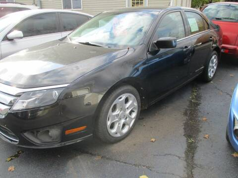 2011 Ford Fusion for sale at SPRINGFIELD AUTO SALES in Springfield WI