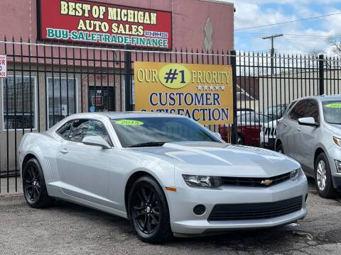 2015 Chevrolet Camaro for sale at Best of Michigan Auto Sales in Detroit MI