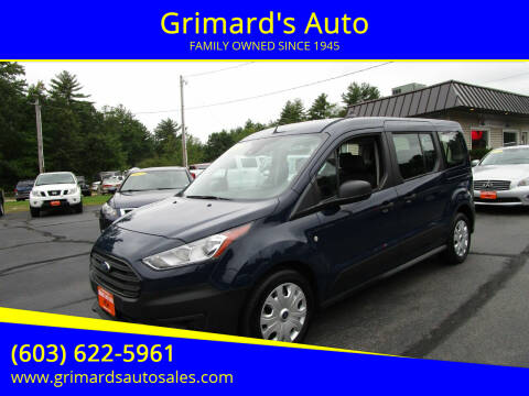 2020 Ford Transit Connect Wagon for sale at Grimard's Auto in Hooksett NH