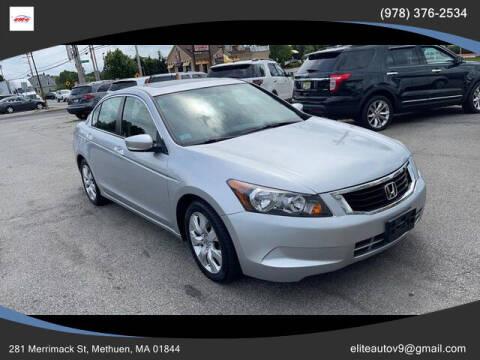 2009 Honda Accord for sale at ELITE AUTO SALES, INC in Methuen MA