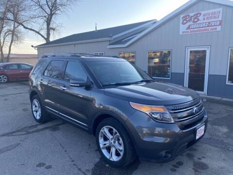 2015 Ford Explorer for sale at B & B Auto Sales in Brookings SD