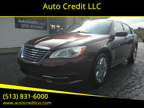 2012 Chrysler 200 for sale at Auto Credit LLC in Milford OH