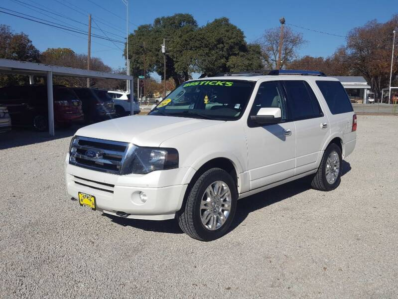 2012 Ford Expedition for sale at Bostick's Auto & Truck Sales in Brownwood TX
