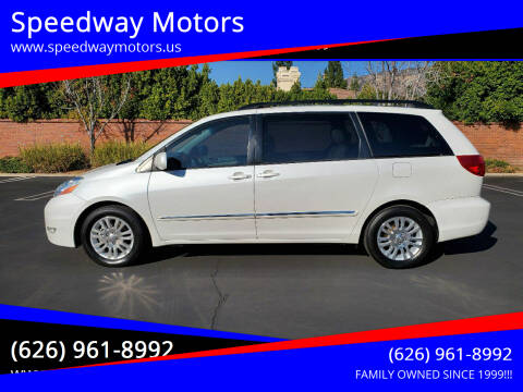 2008 Toyota Sienna for sale at Speedway Motors in Glendora CA