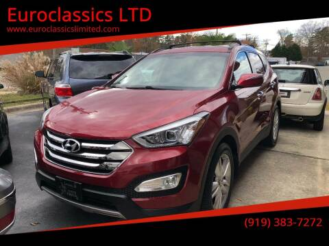 2013 Hyundai Santa Fe Sport for sale at Euroclassics LTD in Durham NC