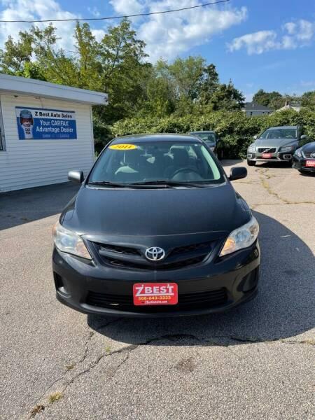 2011 Toyota Corolla for sale at Z Best Auto Sales in North Attleboro MA