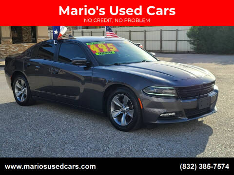 2016 Dodge Charger for sale at Mario's Used Cars - Pasadena Location in Pasadena TX