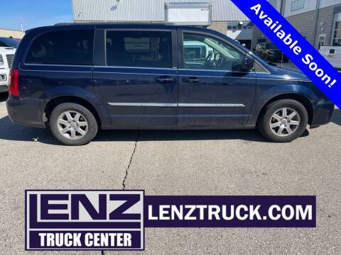 2012 Chrysler Town and Country for sale at LENZ TRUCK CENTER in Fond Du Lac WI