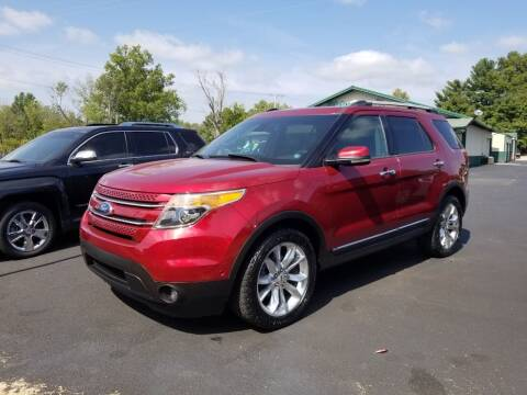 2013 Ford Explorer for sale at Ridgeway's Auto Sales in West Frankfort IL