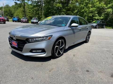 2019 Honda Accord for sale at North Berwick Auto Center in Berwick ME