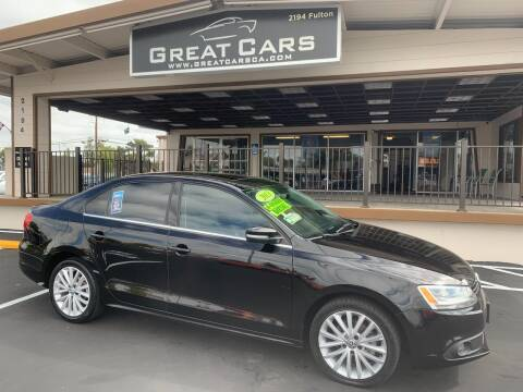 2013 Volkswagen Jetta for sale at Great Cars in Sacramento CA