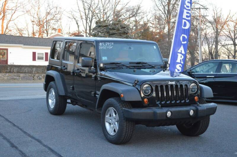2013 Jeep Wrangler Unlimited for sale at LARIN AUTO in Norwood MA