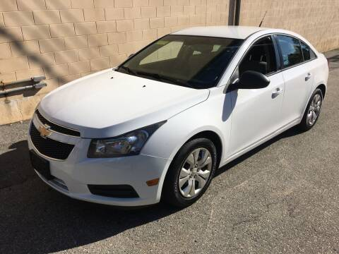 2014 Chevrolet Cruze for sale at Bill's Auto Sales in Peabody MA