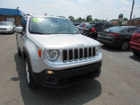 2015 Jeep Renegade for sale at PLATINUM AUTO SALES in Dearborn MI