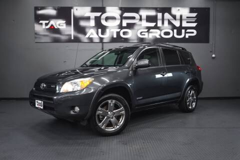 2008 Toyota RAV4 for sale at TOPLINE AUTO GROUP in Kent WA
